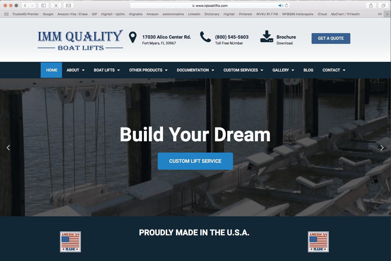 Boat Lift Manufacturer